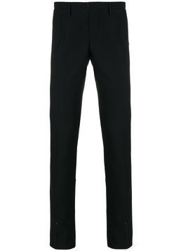 Incotex - slim fit tailored trousers - Herren - Wool/Cotton - 52 - Blue