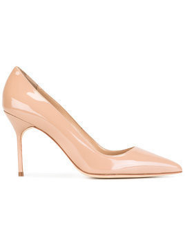 Manolo Blahnik BB 90 pumps - Nude & Neutrals