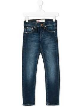 Levi's Kids slim-fit jeans - Blue