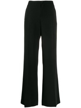 Alysi creased flared trousers - Black
