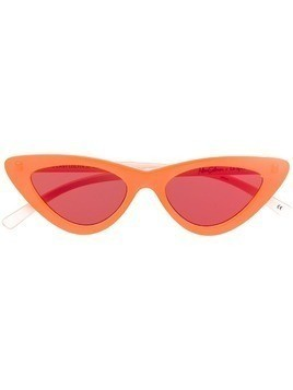 Le Specs x Adam Selman The Last Lolita sunglasses - Orange