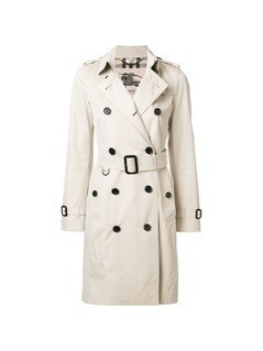 Burberry Kensington belted trench coat - Nude&Neutrals