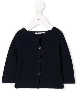 Knot classic fitted cardigan - Blue