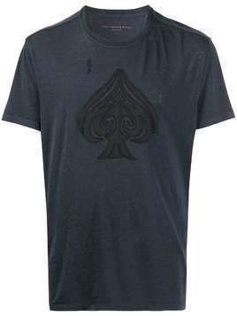 John Varvatos Ace of Spades T-shirt - Blue