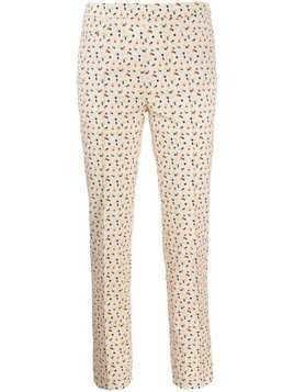 Akris Punto patterned trousers - NEUTRALS