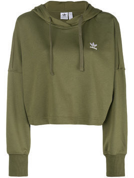 Adidas cropped hoodie - Green