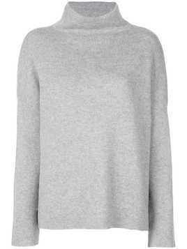 Vince stand-up collar jumper - Grey