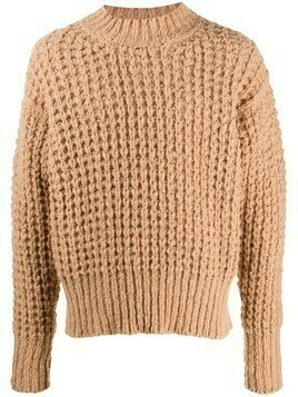 Maison Flaneur chunky knitted jumper - Neutrals