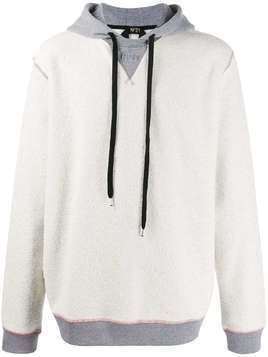 Nº21 reversed hooded sweatshirt - Grey