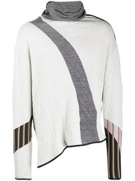 Kiko Kostadinov asymmetric sweater - White