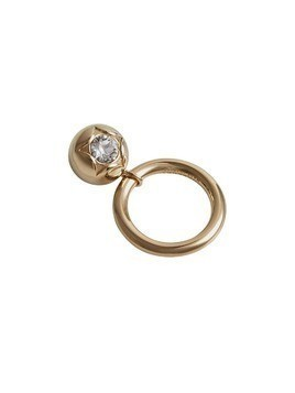 Burberry Crystal Charm Gold-plated Ring - Metallic