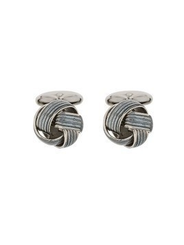 Corneliani knot cufflinks - Grey