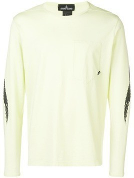 Stone Island Shadow Project long sleeve T-shirt - Yellow