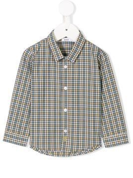 Knot Scandic checked shirt - Grey