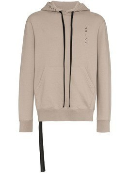 Unravel Project slogan hoodie - Grey