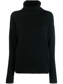 Maison Ullens roll neck jumper - Black