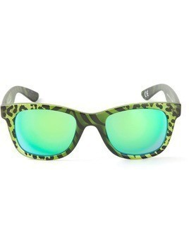 Italia Independent 'I-Peach' mirrored lenses sunglasses - Green
