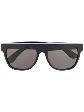 Retrosuperfuture flat-top sunglasses - Black