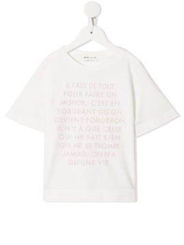 Fith printed T-shirt - White