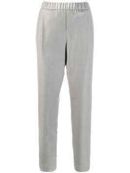 Fabiana Filippi high-waist fitted trousers - Grey