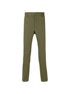 Stella McCartney cropped tailored trousers - Green