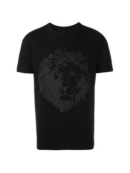 Versus lion print T-shirt - Black