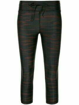 The Upside tiger print cropped leggings - Red
