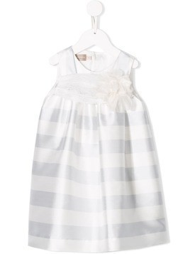 La Stupenderia striped dress - White
