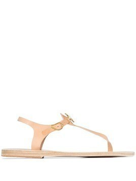 Ancient Greek Sandals Lito coin-embellished sandals - Neutrals