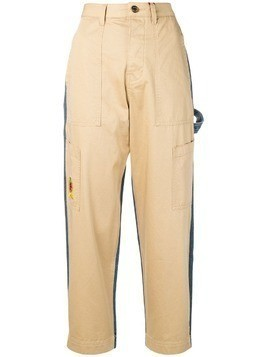 Hilfiger Collection embroidered detail trousers - Neutrals