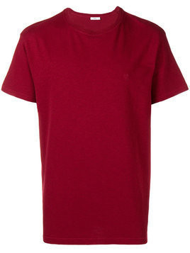 Closed crew neck T-shirt - Red