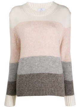 Allude colour block jumper - Pink