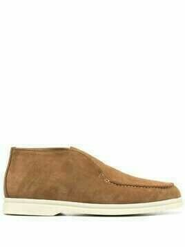 Loro Piana Fae suede loafers - Brown