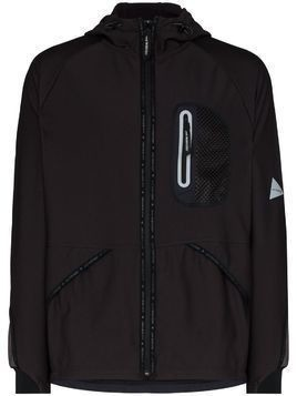and Wander lightweight zip-front jacket - Grey