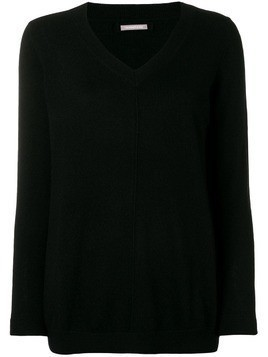 Hemisphere cashmere V-neck sweater - Black