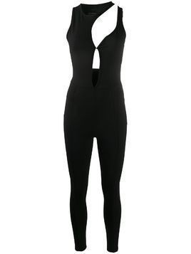 Esteban Cortazar cut-out tight-fit jumpsuit - Black