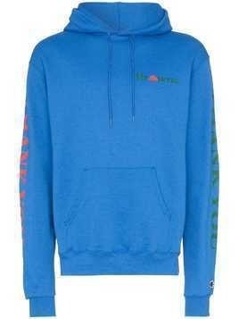 Chinatown Market X Browns printed hoodie - Blue