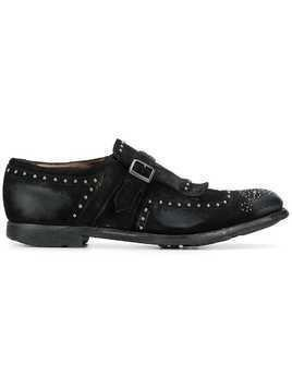 Church's buckle detail shoes - Black