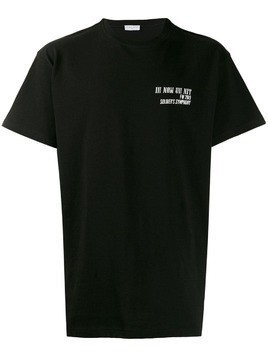 Ih Nom Uh Nit oversized logo T-shirt - Black