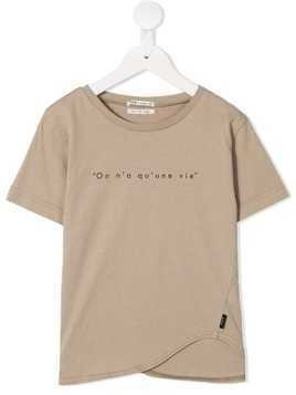 Fith printed T-shirt - Brown