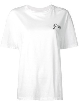 Julien David jazzy print T-shirt - White