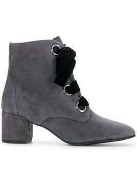 Hogl Francoise 55mm Booties - Grey