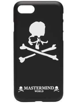 Mastermind Japan black and white skull print iPhone 7/8 phone case