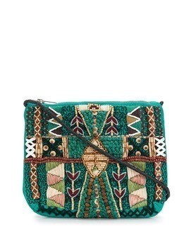 Antik Batik Mauri crossbody bag - Green