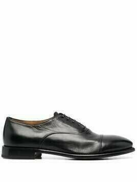 Silvano Sassetti leather lace-up shoes - Black