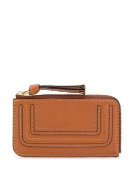 Chloé Marcie card holder - Brown