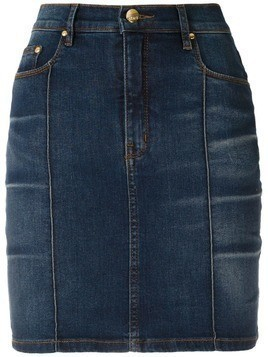 Amapô Cris high waisted denim skirt - Blue