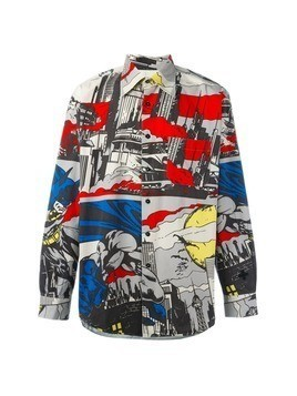 Jc De Castelbajac Vintage Batman print shirt - Multicolour