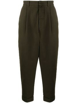 Ami Paris oversize carrot fit chinos - Brown