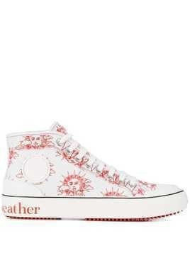 Stella McCartney We Are The Weather high-top sneakers - White